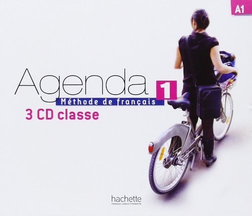 Agenda 1 CD audio classe (x3)