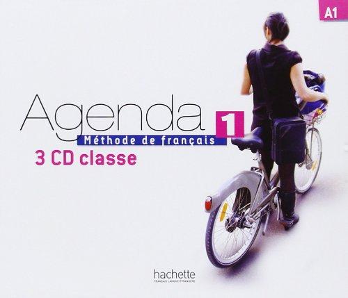 Agenda 1 CD audio classe (x3)