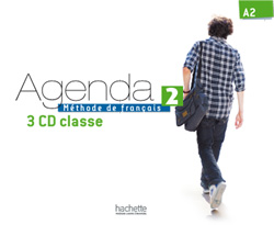 Agenda 2 CD audio classe (x3)