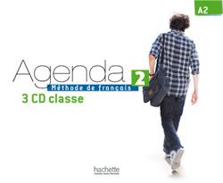 Agenda 2 CD audio classe (x3)