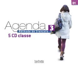 Agenda 3 CD audio classe (x5)