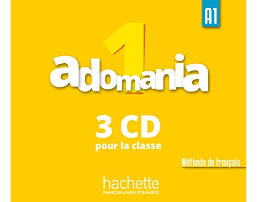 Adomania 1 CD audio classe (x3)!!