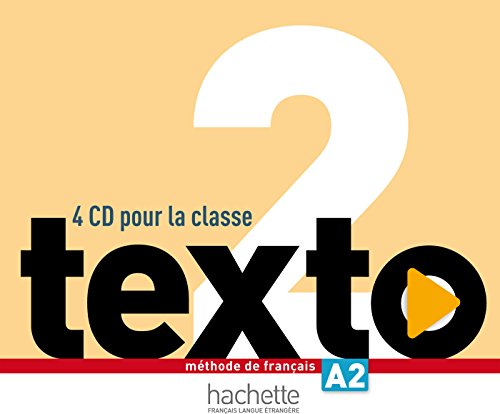 Texto 2 CD audio classe (x2)