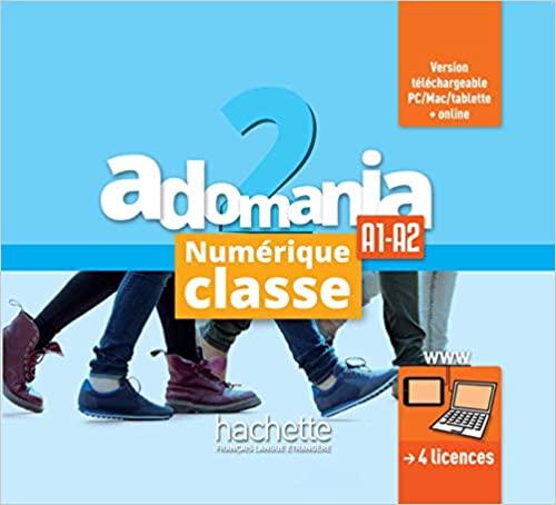 Adomania 2 MN professeur - carte