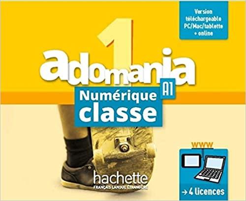 Adomania 1 MN professeur - carte