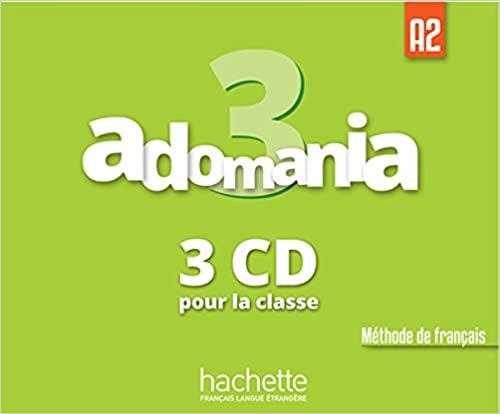 Adomania 3 CD audio classe (x3)