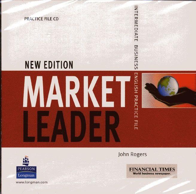 Market Leader New Edition Intermediate Level Practice File Audio CD licen.