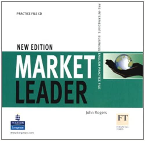 Market Leader New Edition Pre-Intermediate Level Practice File CD licen.