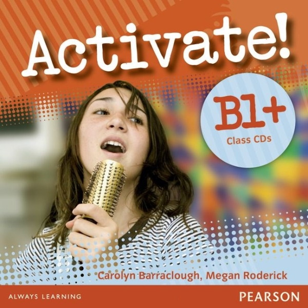 Activate! B1+ Level Class CDs (2) licen.