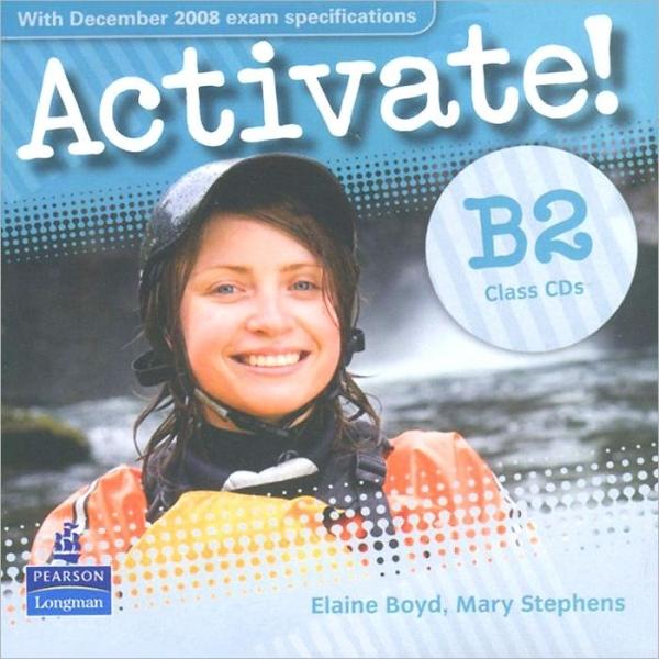 Activate! B2 Level Class CDs (2) licen.