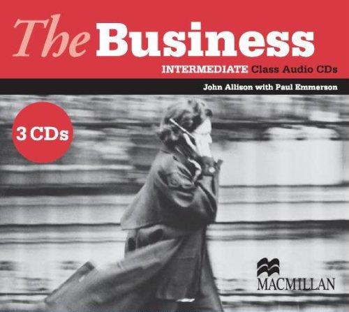 The Business Intermediate Class Audio CD (3) licen.