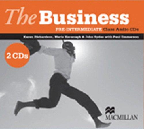 The Business Pre- Intermediate Class Audio CD (2) licen.