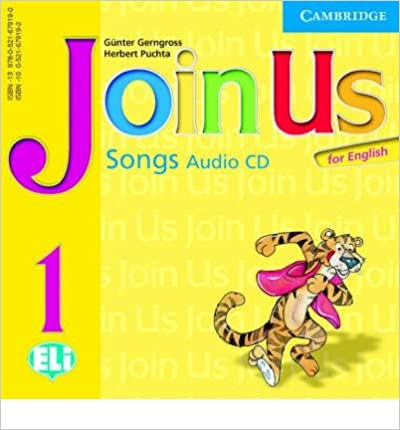 Join Us for English Level 1 Songs Audio CD licen.