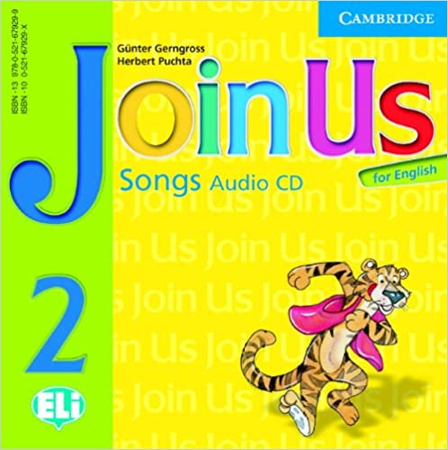 Join Us for English Level 2 Songs Audio CD licen.
