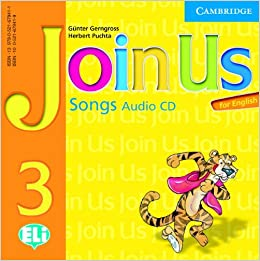 Join Us for English Level 3 Songs Audio CD licen.