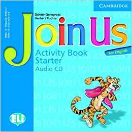 Join Us for English Starter Activity Book Audio CD licen.