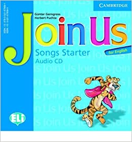 Join Us for English Starter Songs Audio CD licen.