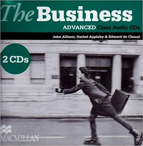The Business Advanced Class Audio CD (2) licen.