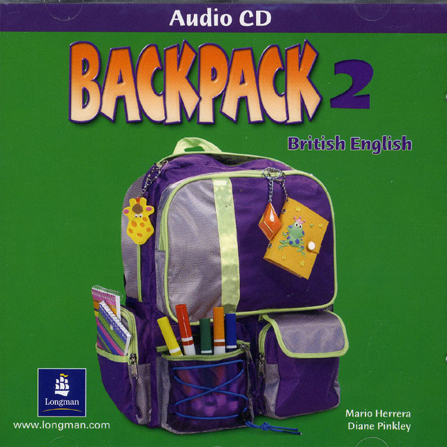 Backpack British English Level 2 Audio CD  licen.