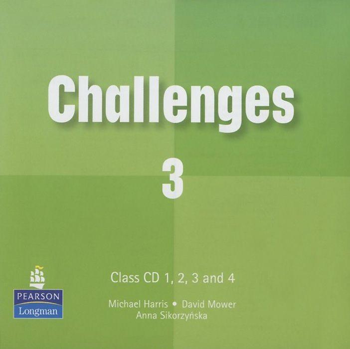 Challenges Level 3 Class Audio CD (4) licen.