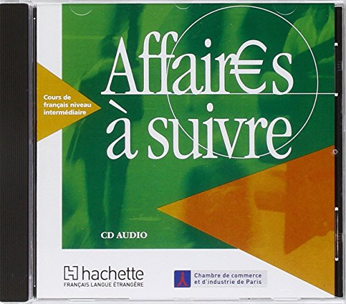 Affaires a suivre CD audio eleve licen.