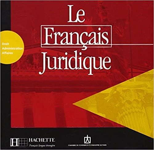 Le Francais juridique CD audio licen.