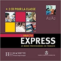 Objectif Express Niveau 1 CD audio (x2) licen.