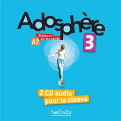 Adosphere 3 CD audio classe (2) licen.