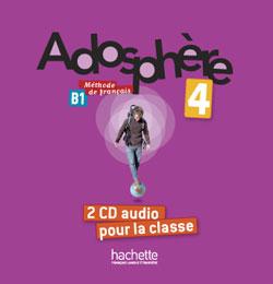 Adosphere 4 CD audio classe (2) licen.