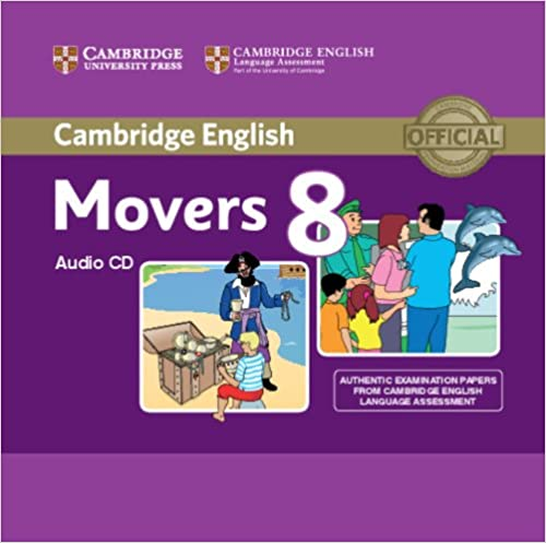 C Young Learners Eng Tests 8 Movers Audio CD licen.