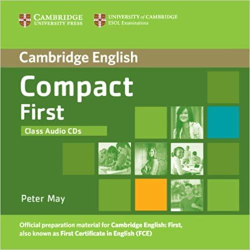 Compact First  Class Audio CDs (2) licen.