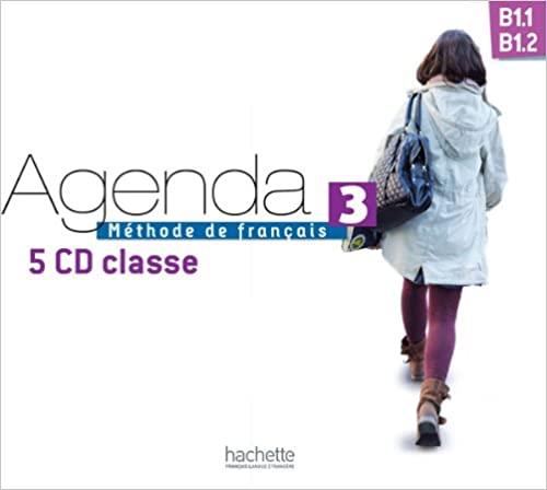 Agenda 3 B1.1/1.2 CD audio classe (x5) licen.