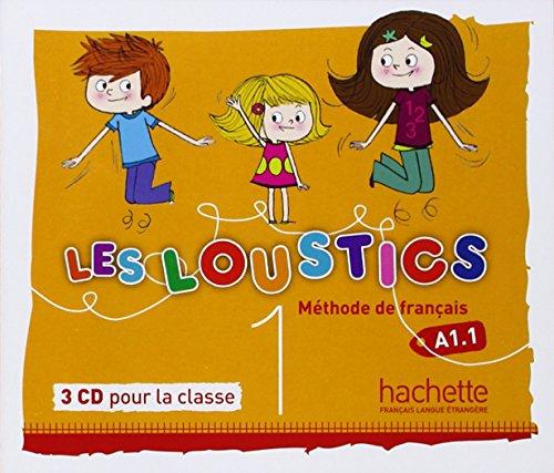 Les Loustics 1 CD audio classe (x3) licen.