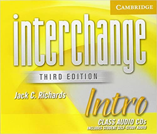 Interchange 3Ed  Intro Cl CD x4 licen.