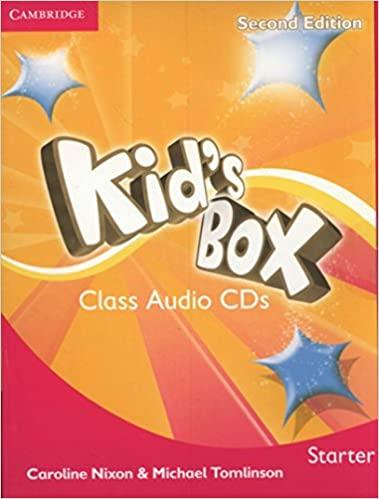 Kid's Box 2Ed and Updated Starter CDs x2 licen.
