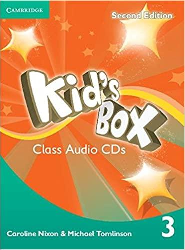Kid's Box 2Ed 3 CDs x3 licen.