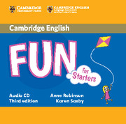 Fun for Starters, Movers and Flyers 3Ed Starters Aud CD лиценз.