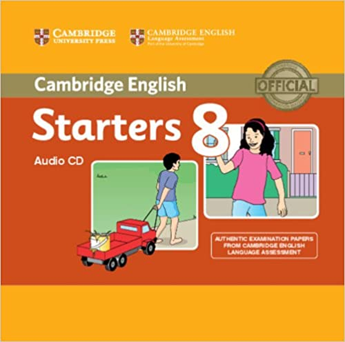 C Young Learners Eng Tests 8 Starters Audio CD лиценз.