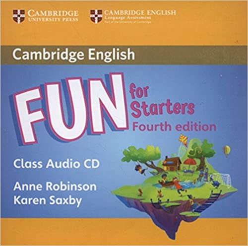 Fun for Starters, Movers and Flyers 4Ed  Starters Class Audio CD лиц.