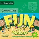 Fun for Starters, Movers and Flyers 2Ed  Movers  Audio CD лиценз.