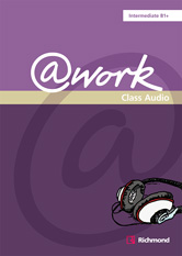 @Work Intermediate  Class Audio Cd