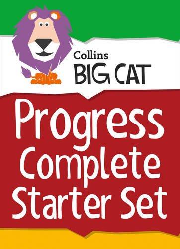 Collins Big Cat Sets Progress Complete Starter Set: Band 03 Yellow - Band 11 Lime
