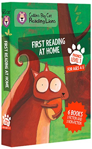 Big Cat Reading Lions - Level 1: First Reading at Home