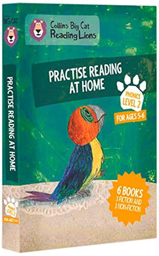 Big Cat Reading Lions - Level 2: Practise Reading at Home