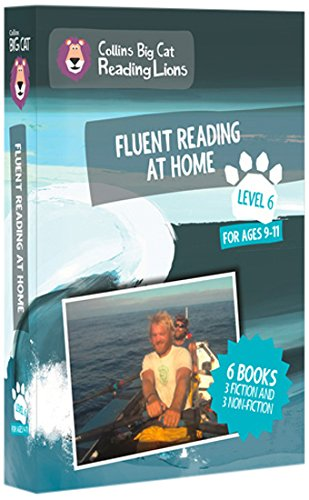 Big Cat Reading Lions - Level 6: Fluent Reading at Home