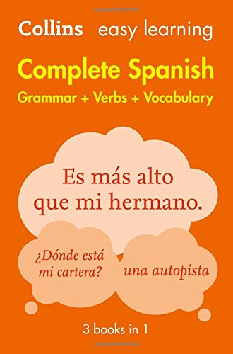 Easy Learning Complete Spanish Grammar, Verbs and Vocabulary 2Ed
