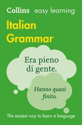 Collins Italian Easy Learning Grammar 3Ed