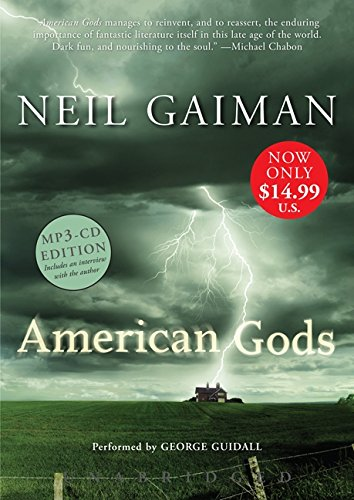 American Gods  MP3  Unabridged