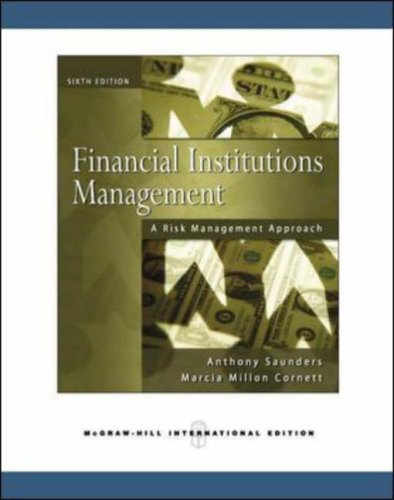 Financial Institutions Management 6 Edition