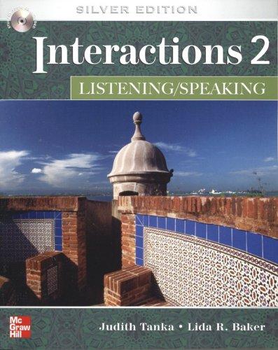 Interactions 2 Listen & Speak Assessment CD